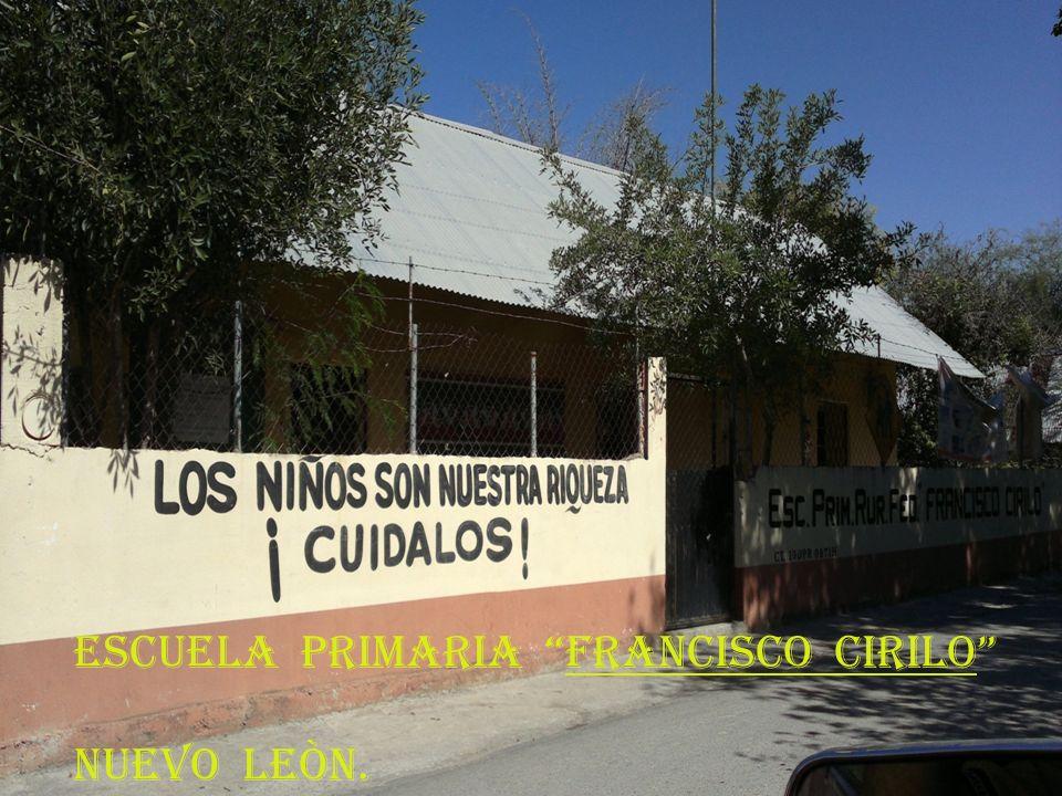 ESCUELA PRIMARIA FRANCISCO CIRILO
