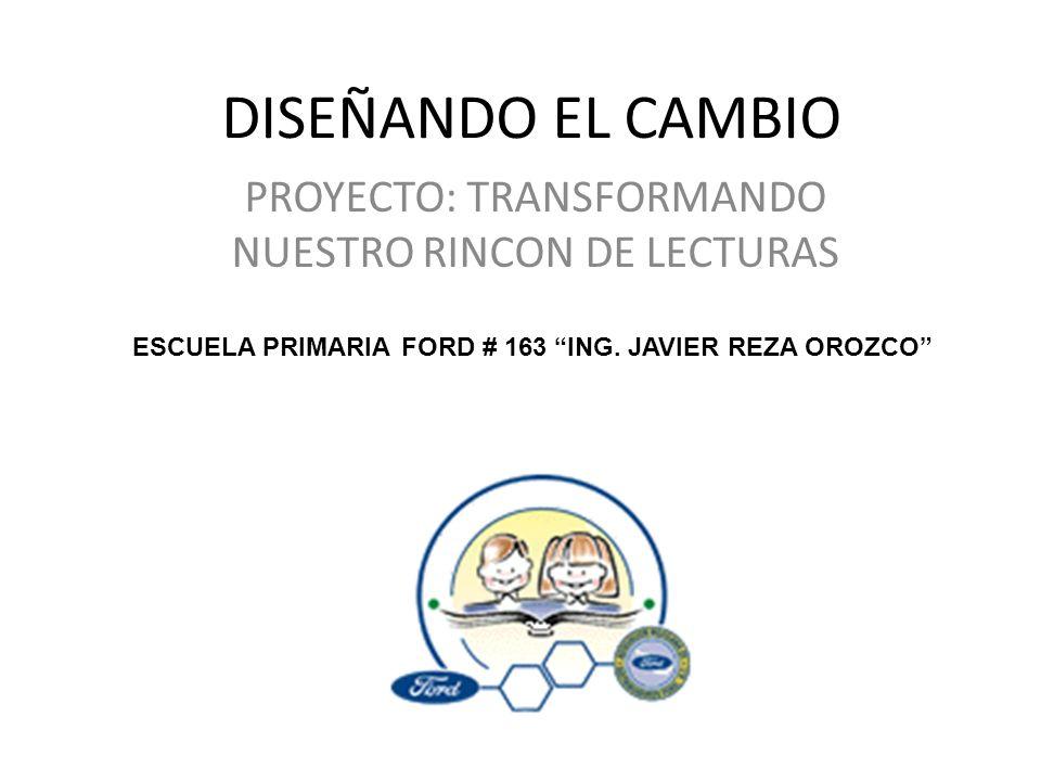 PROYECTO: TRANSFORMANDO NUESTRO RINCON DE LECTURAS