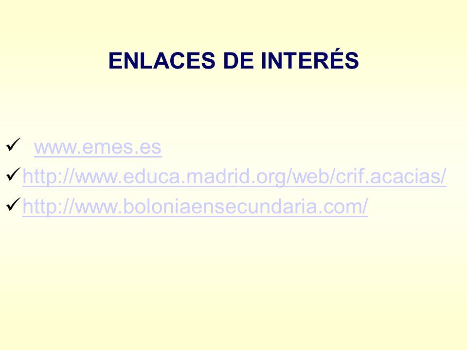 ENLACES DE INTERÉS www.emes.es