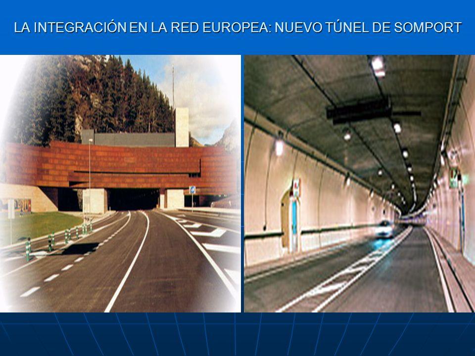 LA INTEGRACIÓN EN LA RED EUROPEA: NUEVO TÚNEL DE SOMPORT