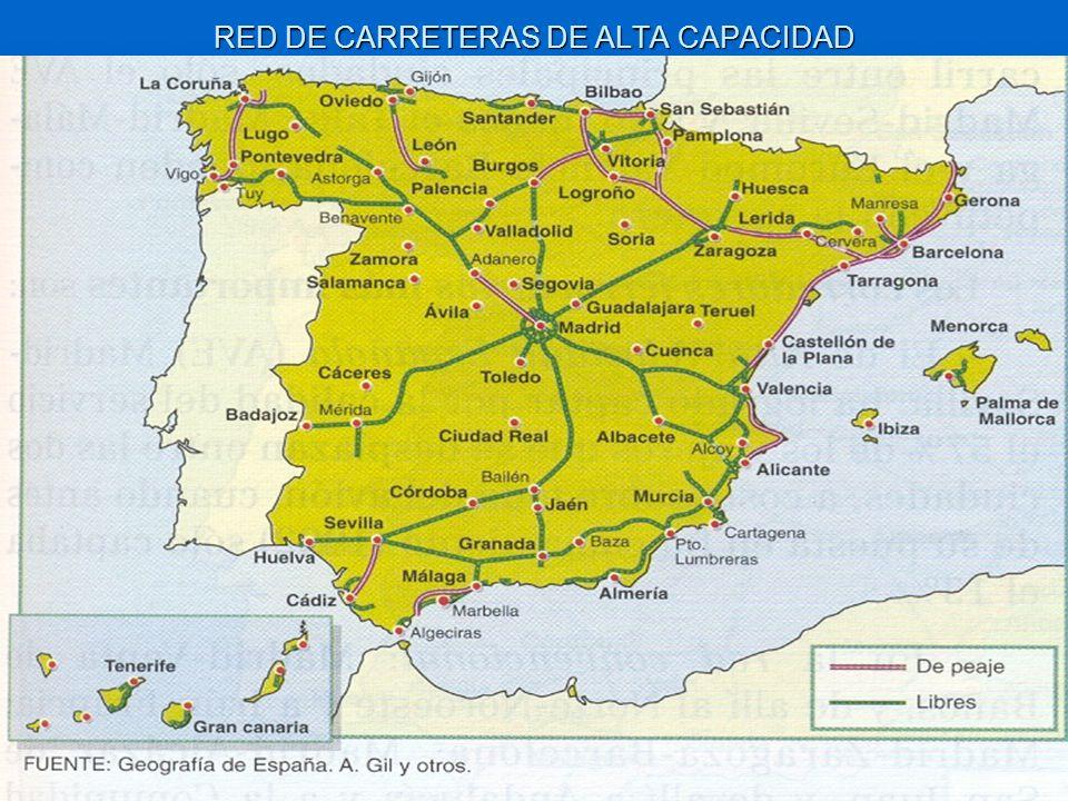 RED DE CARRETERAS DE ALTA CAPACIDAD