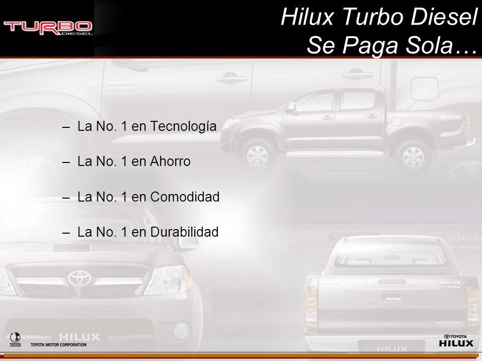 Hilux Turbo Diesel Se Paga Sola…