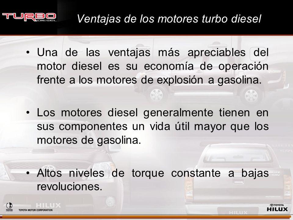 Ventajas de los motores turbo diesel