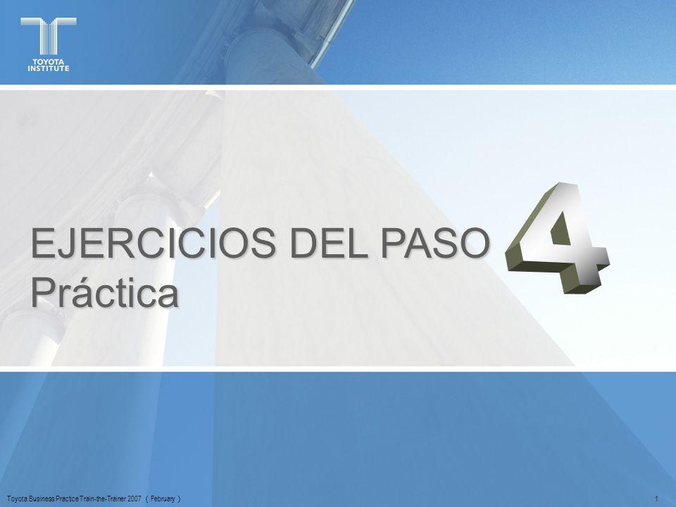 EJERCICIOS DEL PASO Práctica 4 <セッションの目的>