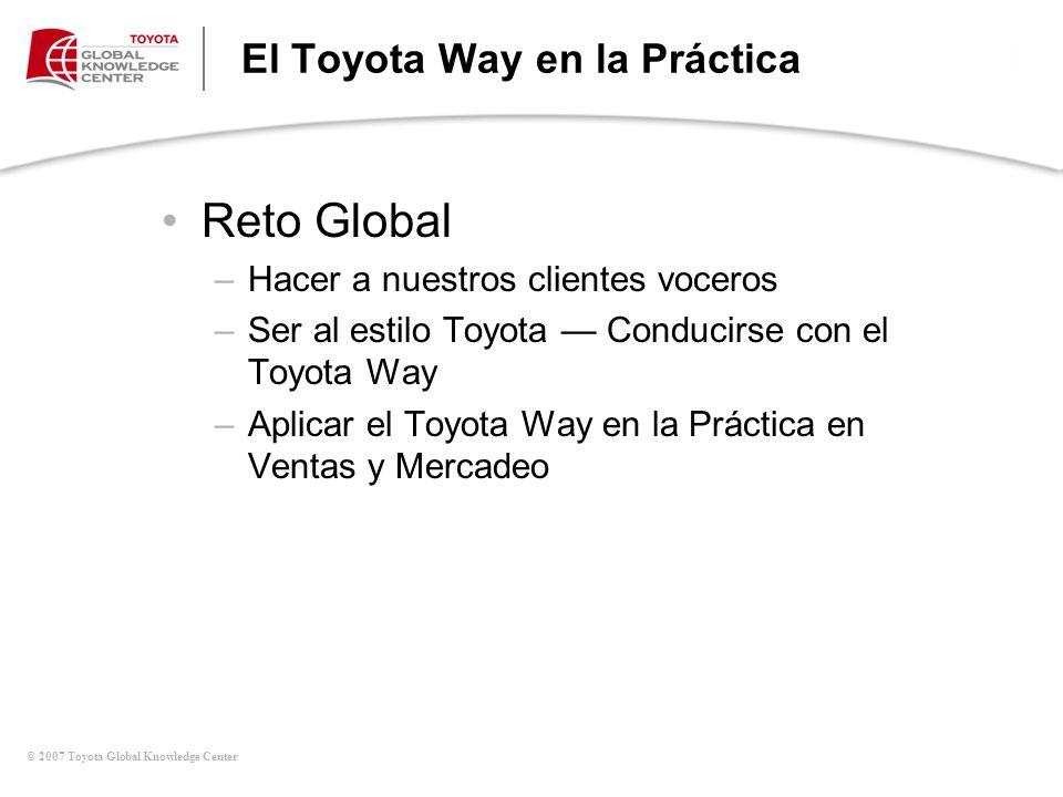 El Toyota Way en la Práctica