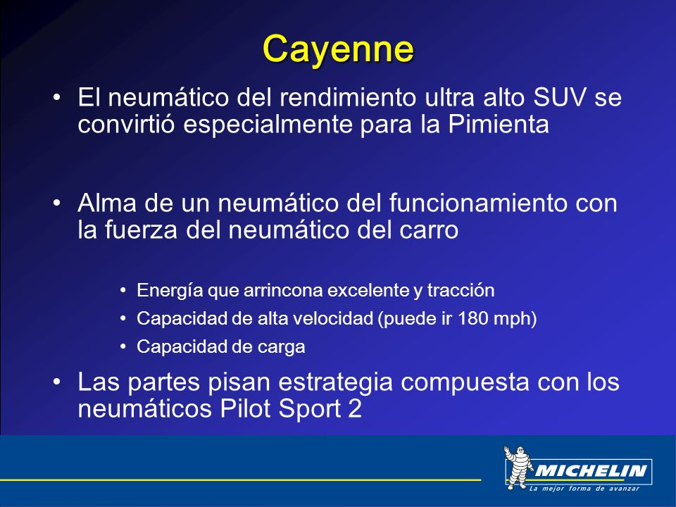 Cayenne El neumático del rendimiento ultra alto SUV se convirtió especialmente para la Pimienta.