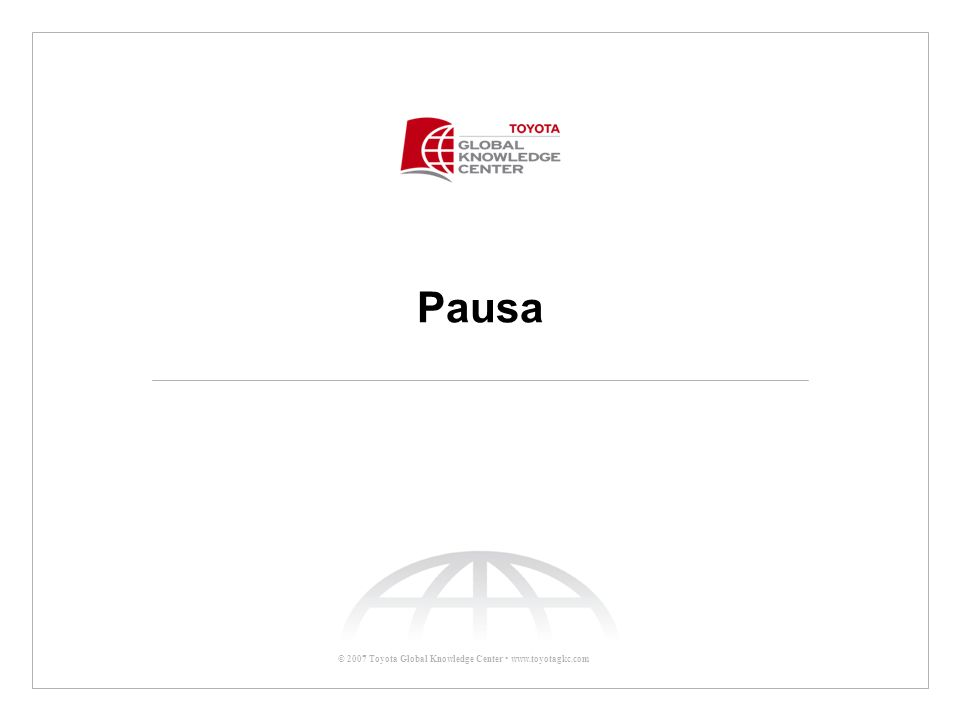 Pausa Pausa 10 minutos 10:10 p.m.