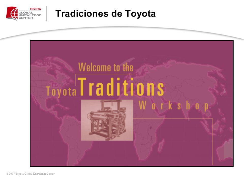 Tradiciones de Toyota Introducción a Tradiciones Globales de Toyota
