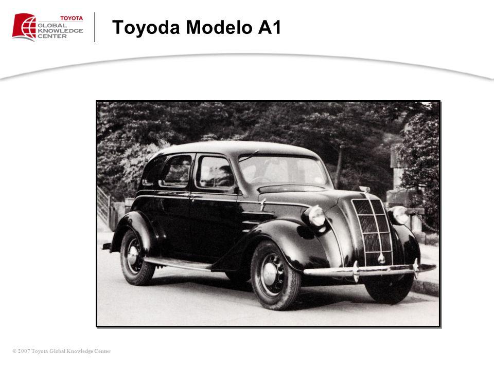 Toyoda Modelo A1 Mesa de Discusiones (continúa)