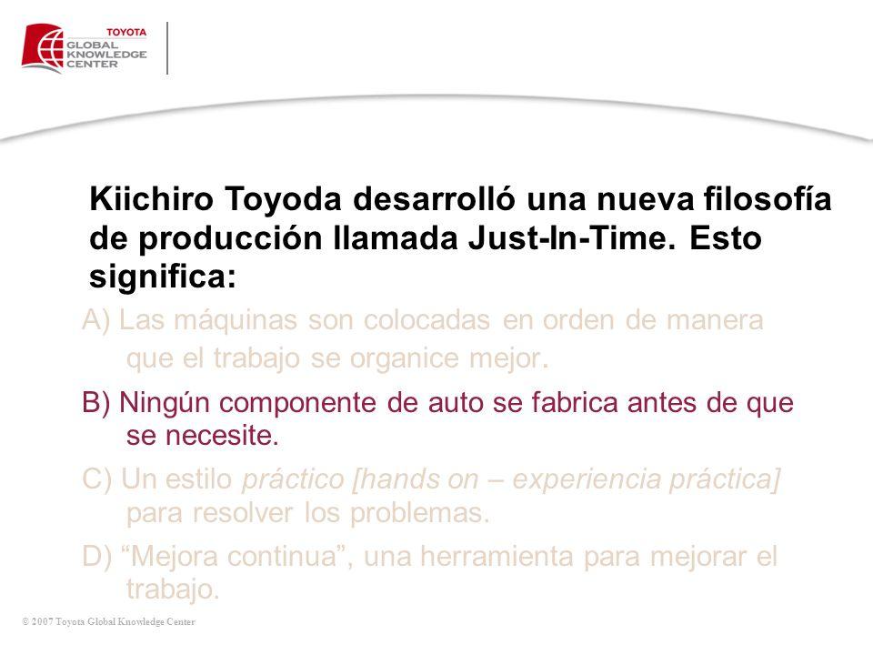 Quiz de Tradiciones Globales de Toyota