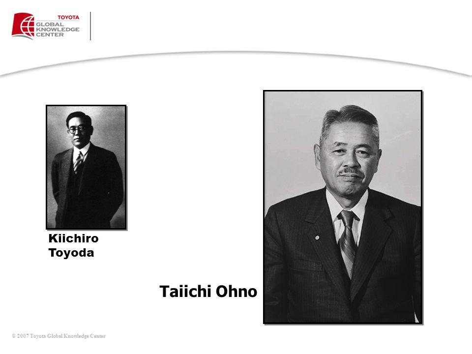 Taiichi Ohno Kiichiro Toyoda Mesa de Discusiones (continúa)