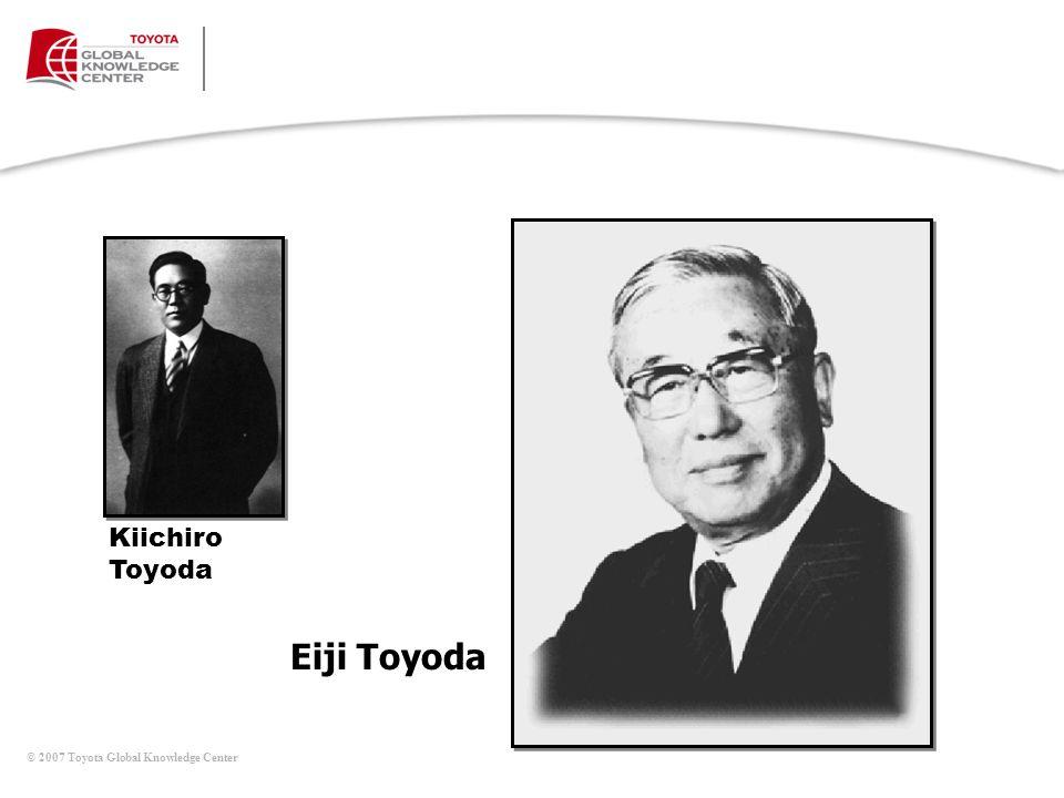 Eiji Toyoda Kiichiro Toyoda Mesa de Discusiones (continúa)