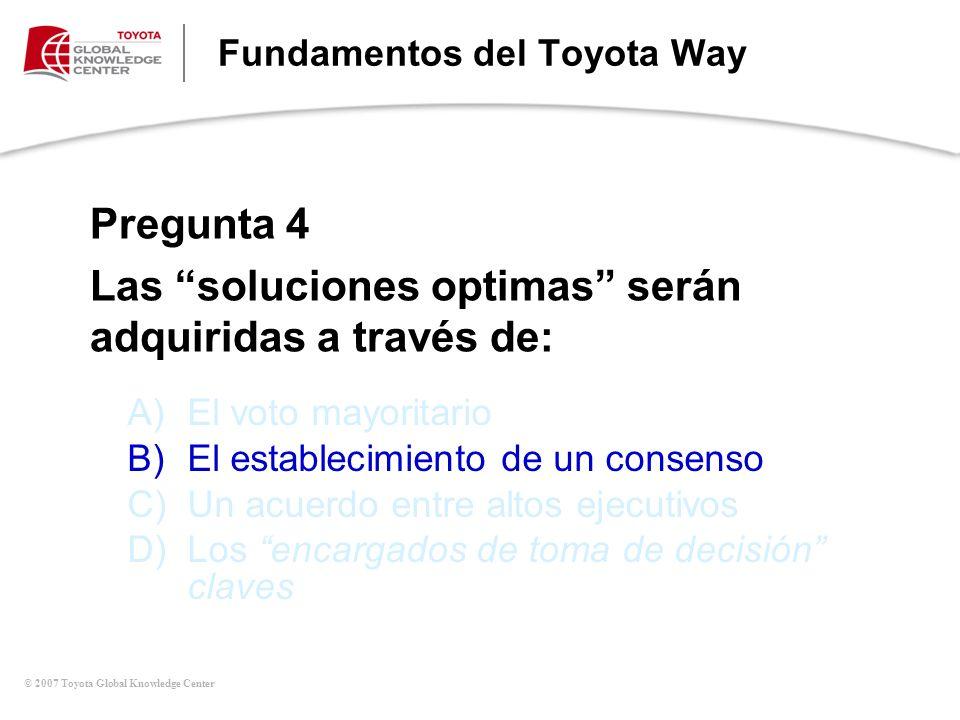 Fundamentos del Toyota Way
