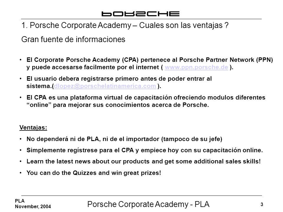 1. Porsche Corporate Academy – Cuales son las ventajas