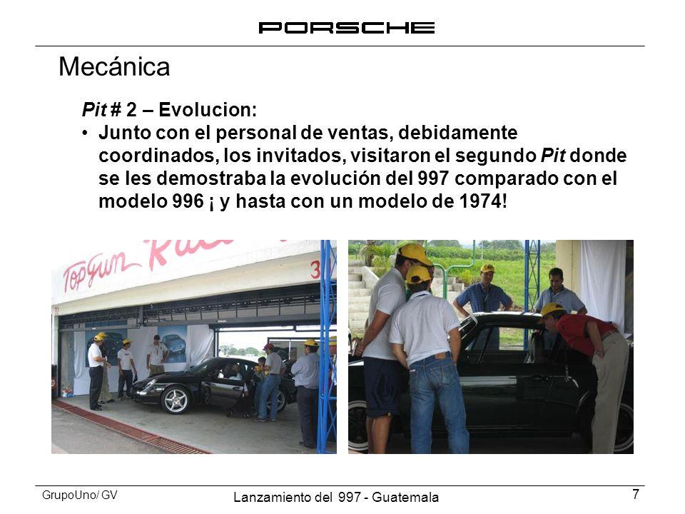 Mecánica Pit # 2 – Evolucion: