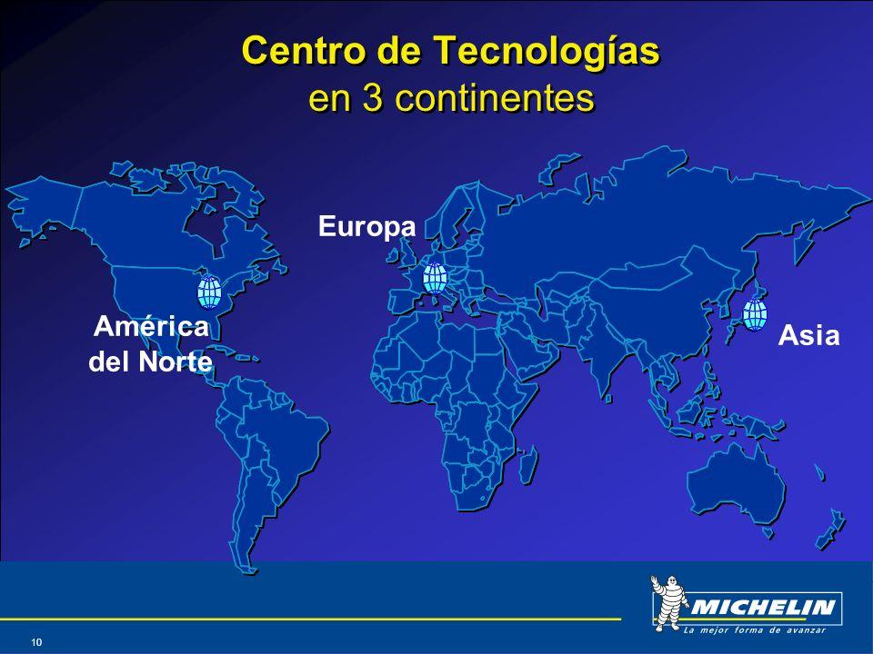 Centro de Tecnologías en 3 continentes