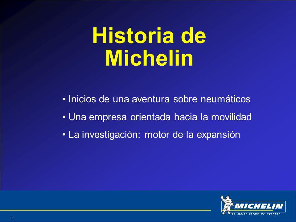 Historia de Michelin Inicios de una aventura sobre neumáticos