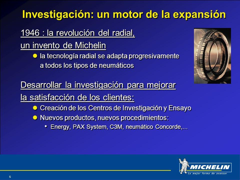Investigación: un motor de la expansión