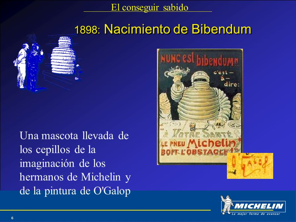 1898: Nacimiento de Bibendum