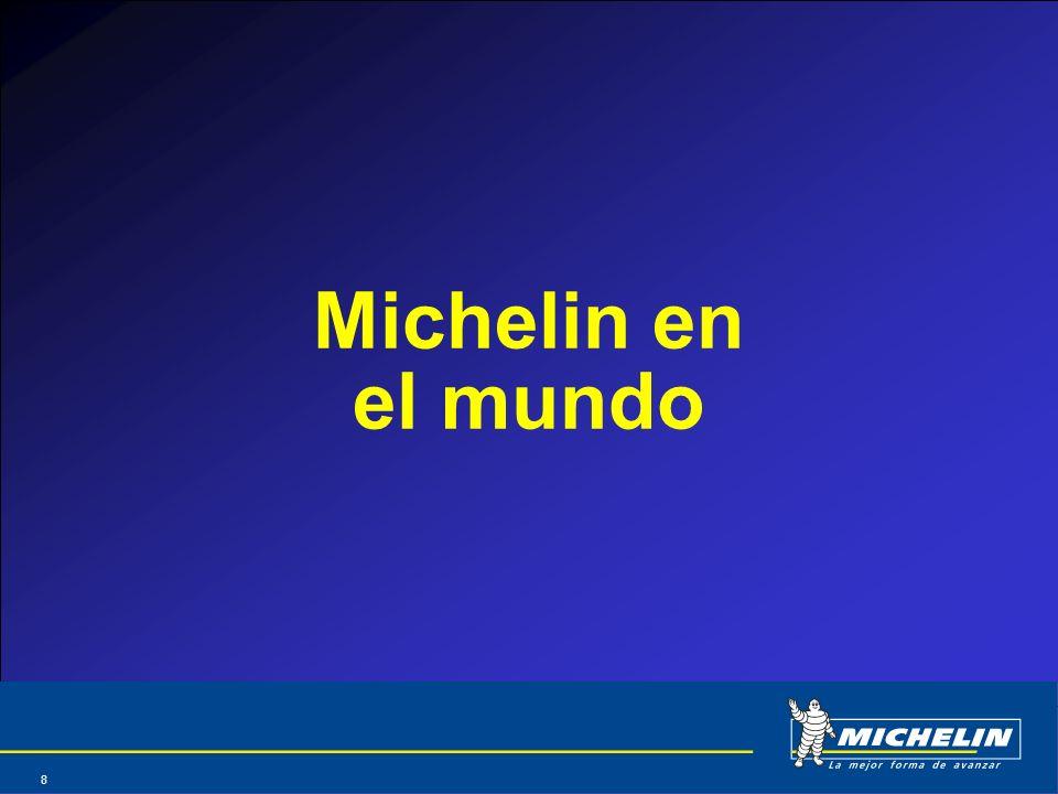 Michelin en el mundo