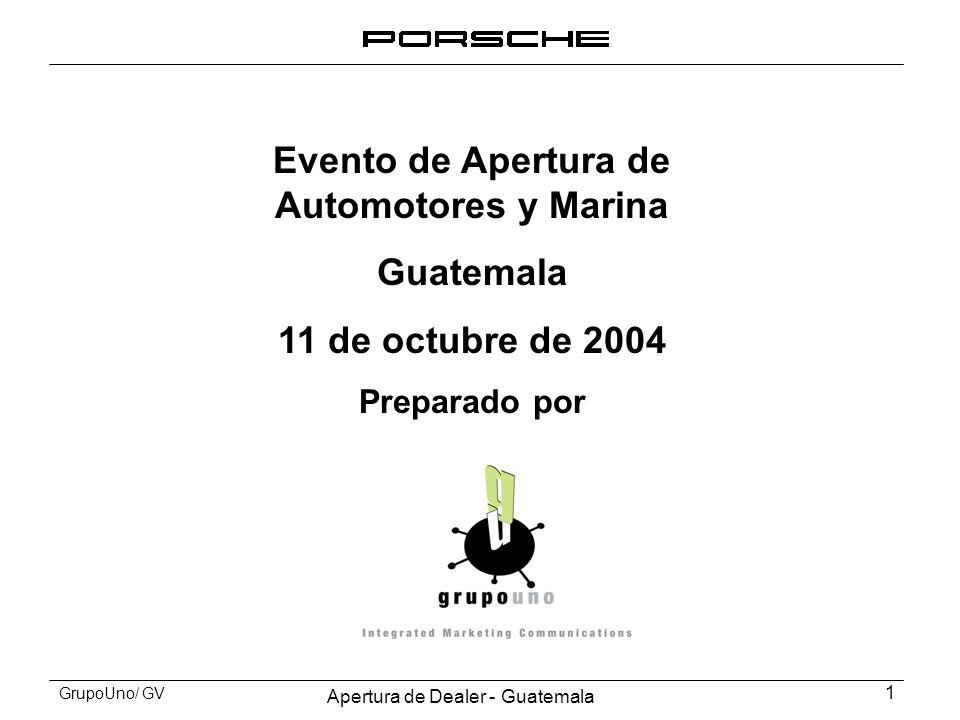 Evento de Apertura de Automotores y Marina