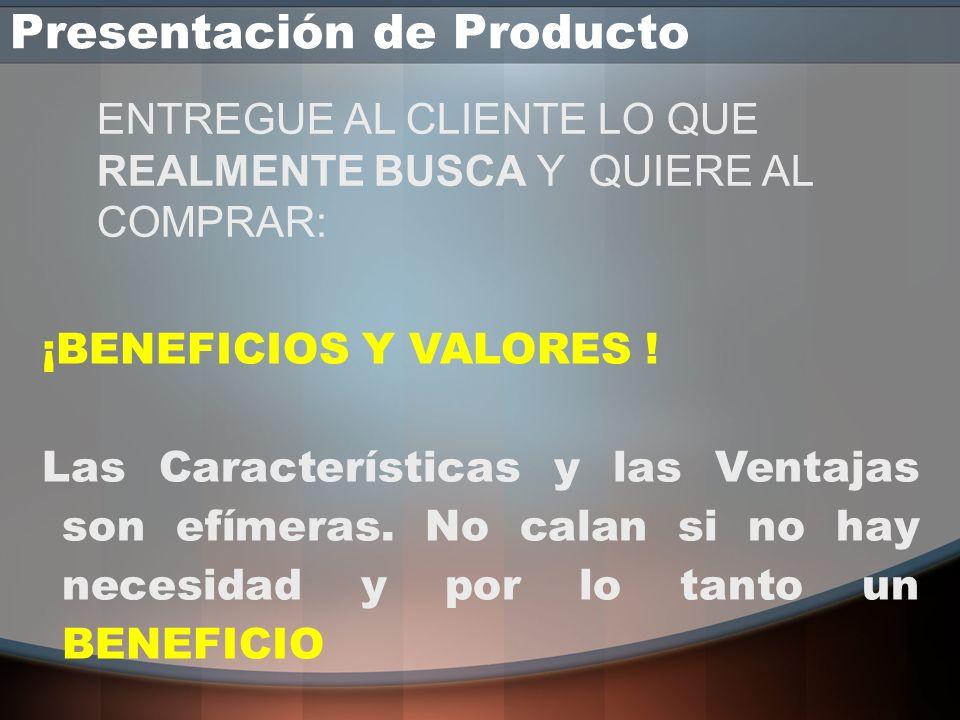 Presentación de Producto