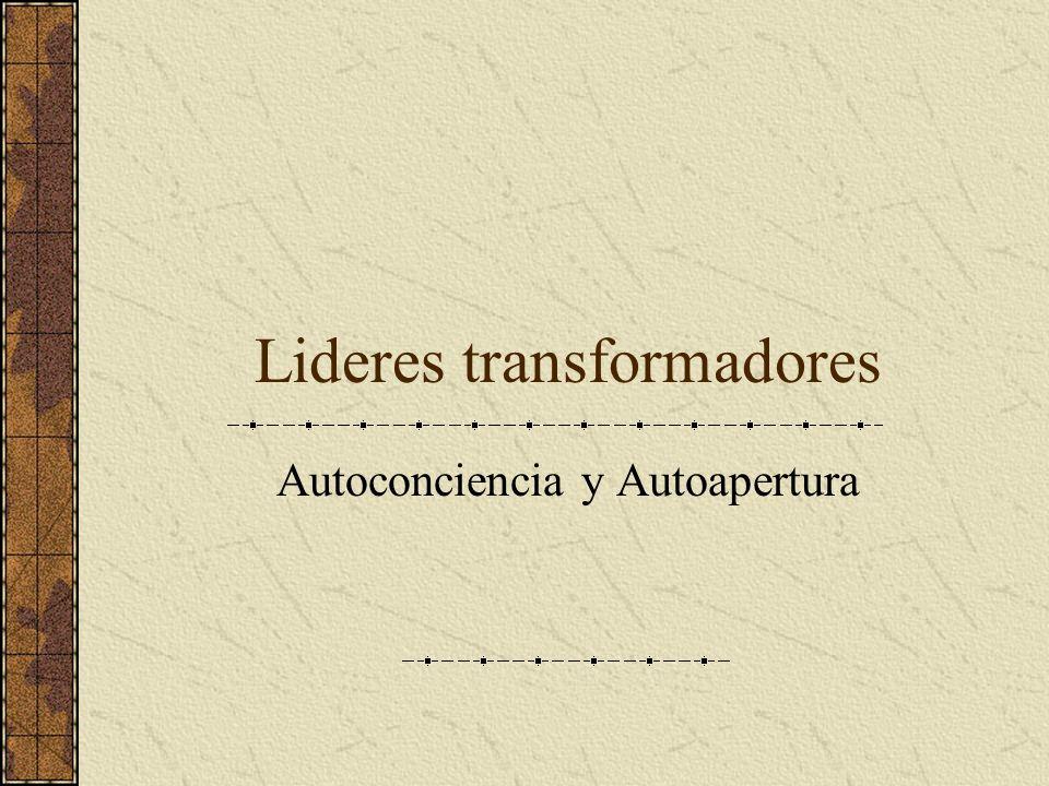 Lideres transformadores