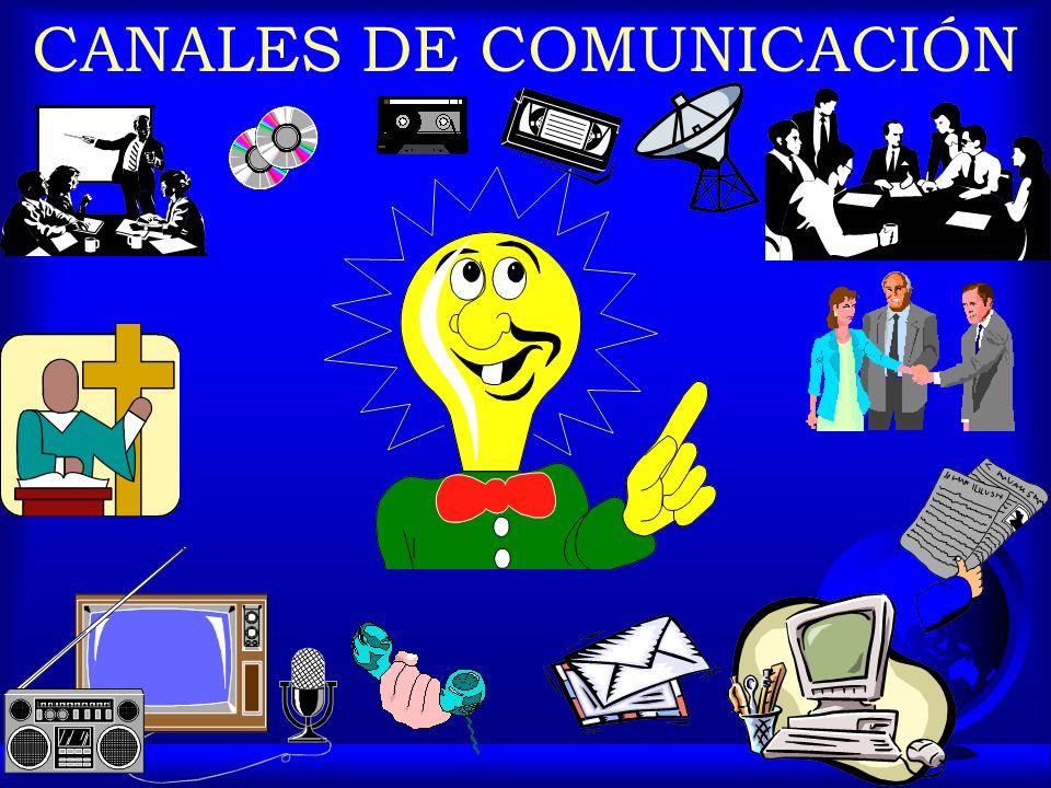 CANALES DE COMUNICACIÓN