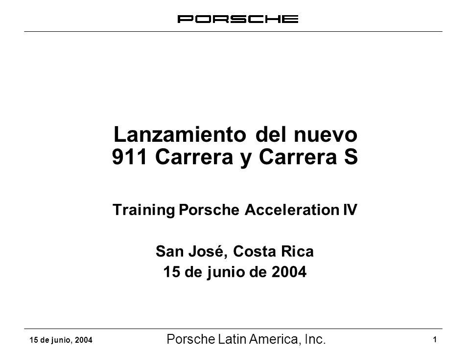 Lanzamiento del nuevo 911 Carrera y Carrera S