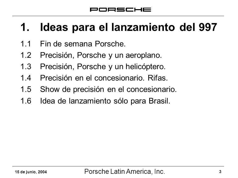 1. Ideas para el lanzamiento del 997