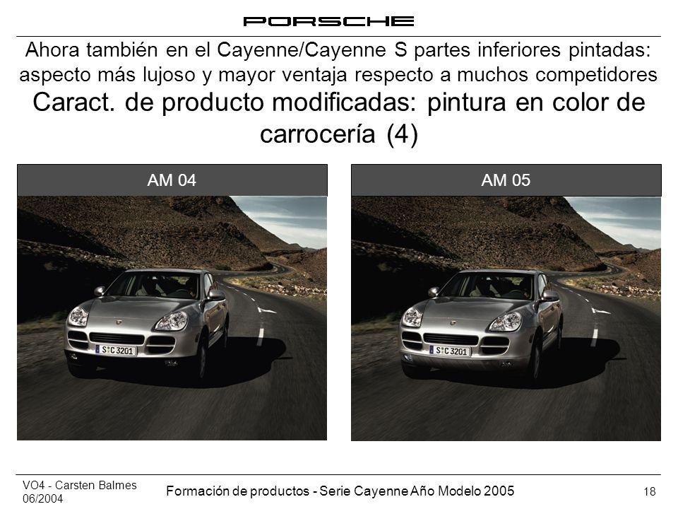 Caract. de producto modificadas: pintura en color de carrocería (4)