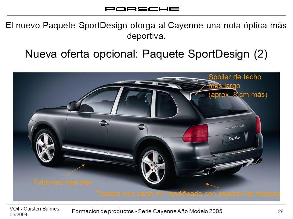 Nueva oferta opcional: Paquete SportDesign (2)