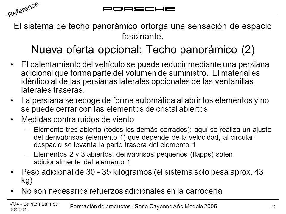 Nueva oferta opcional: Techo panorámico (2)