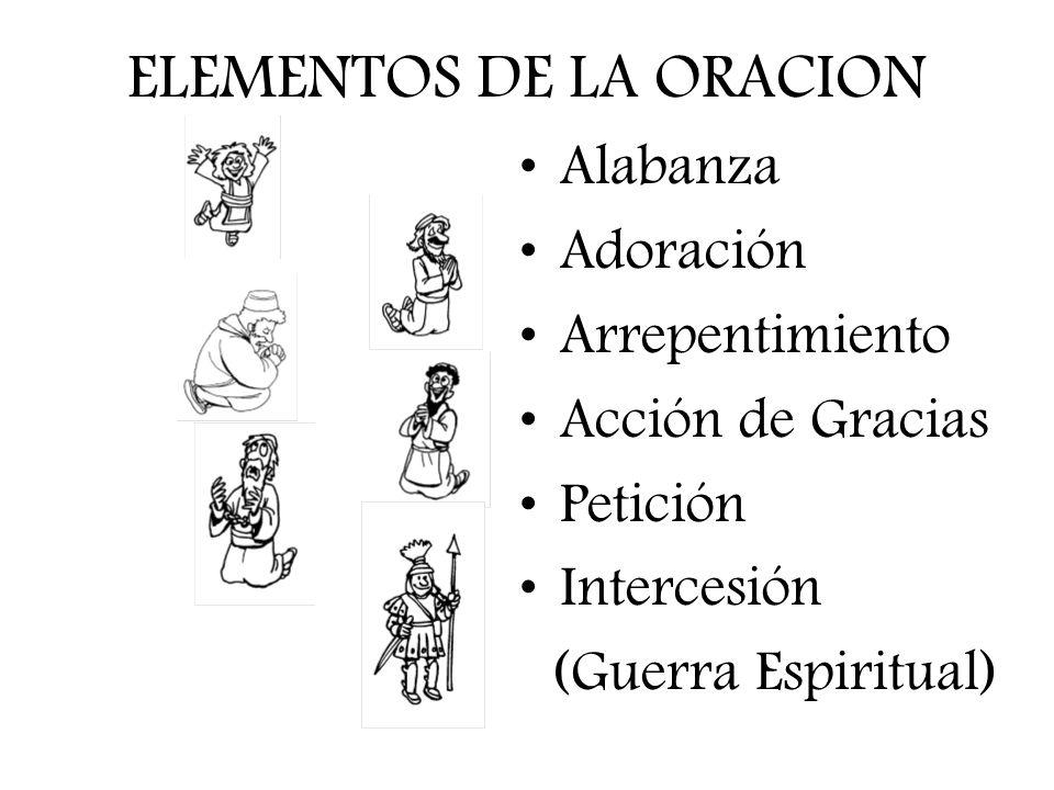 ELEMENTOS DE LA ORACION