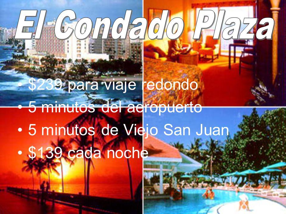 5 minutos del aeropuerto 5 minutos de Viejo San Juan $139 cada noche