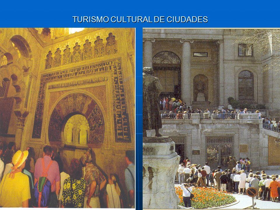 TURISMO CULTURAL DE CIUDADES