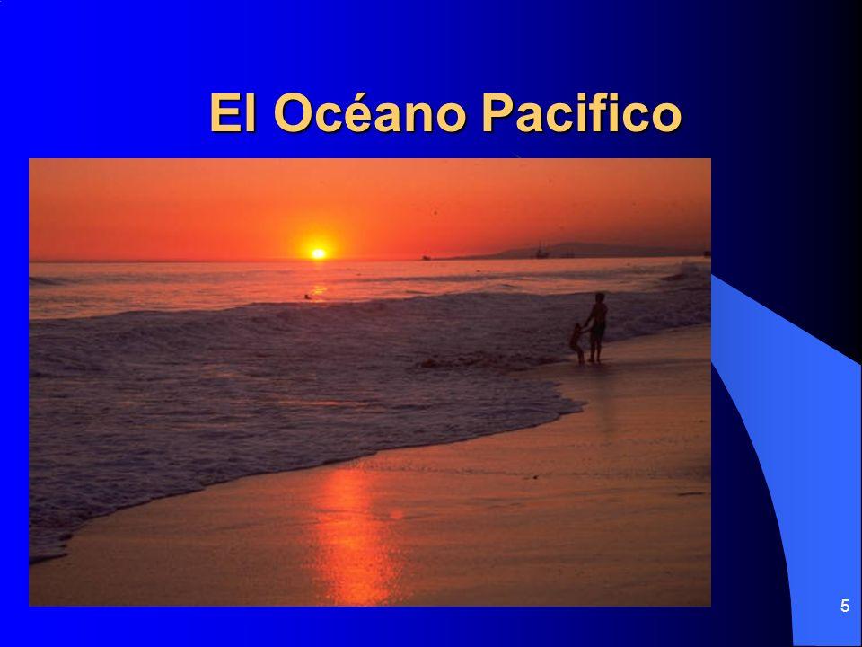 El Océano Pacifico