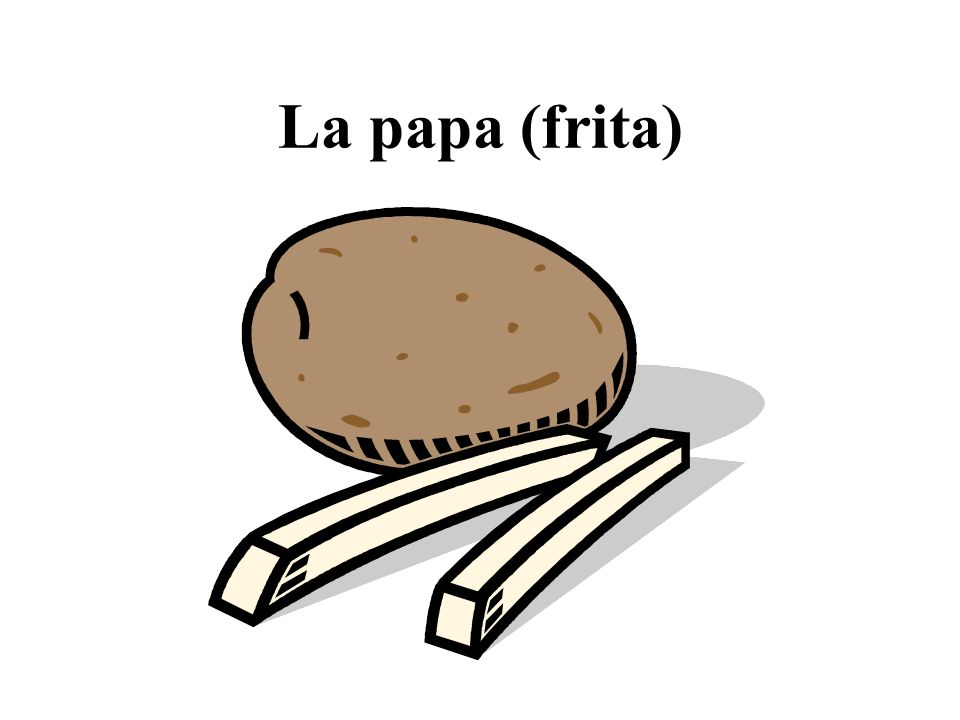 La papa (frita)