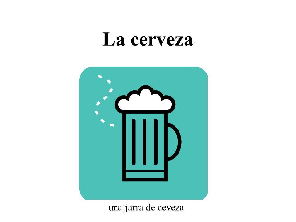La cerveza una jarra de ceveza