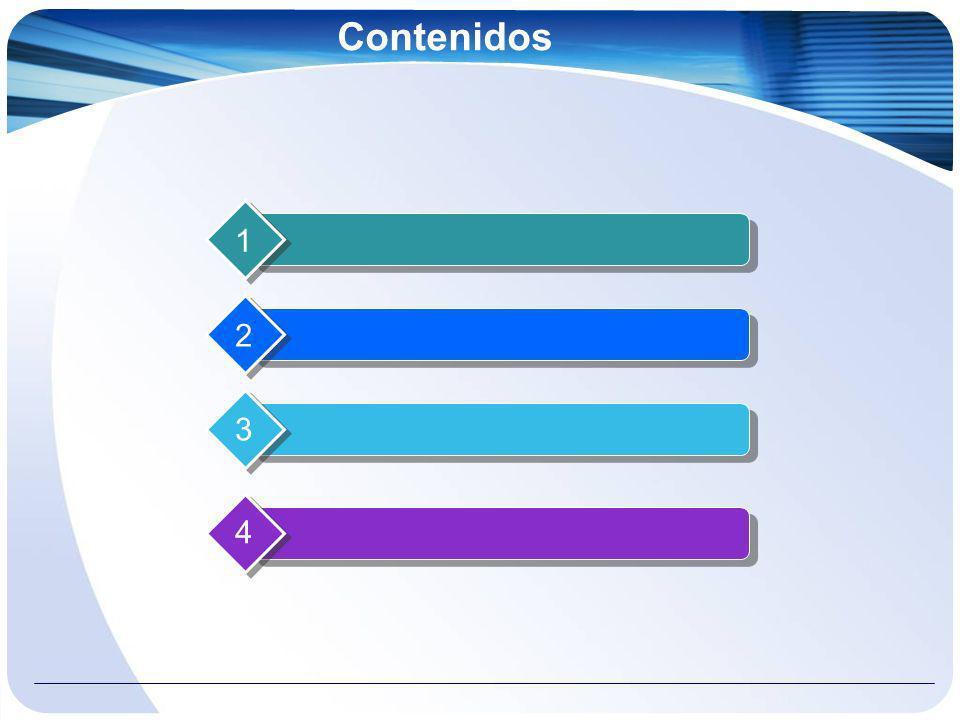 Contenidos 1 2 3 4