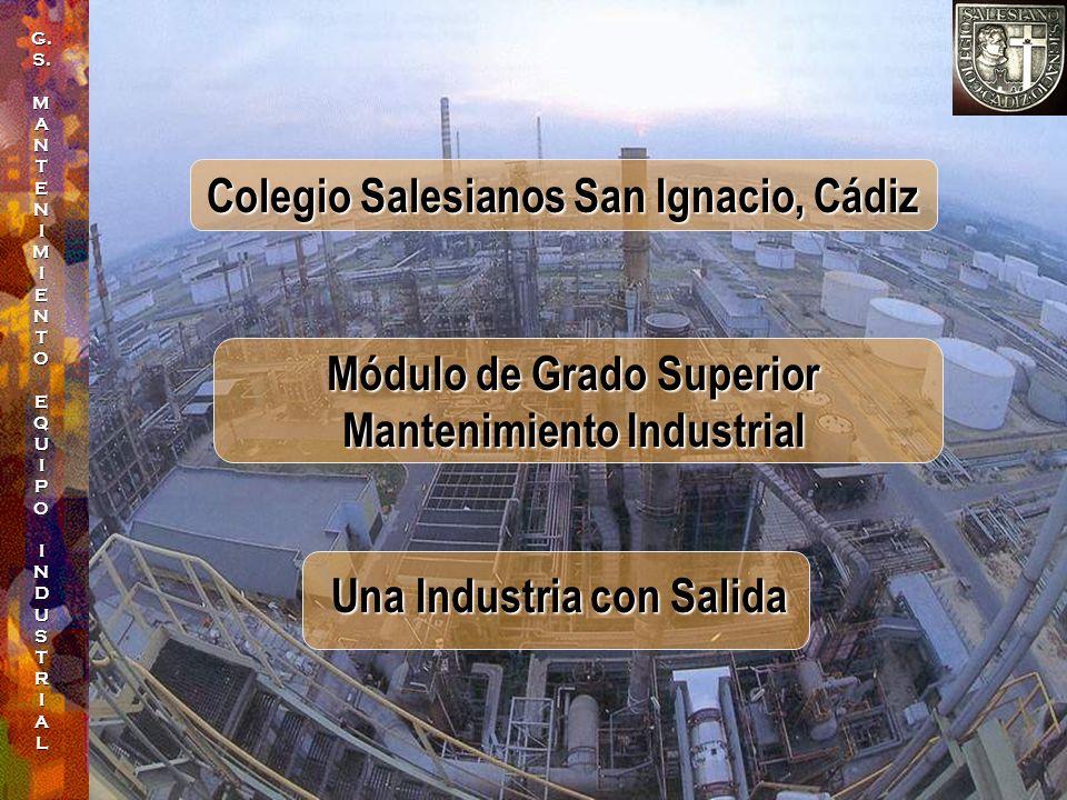 Módulo de Grado Superior Mantenimiento Industrial