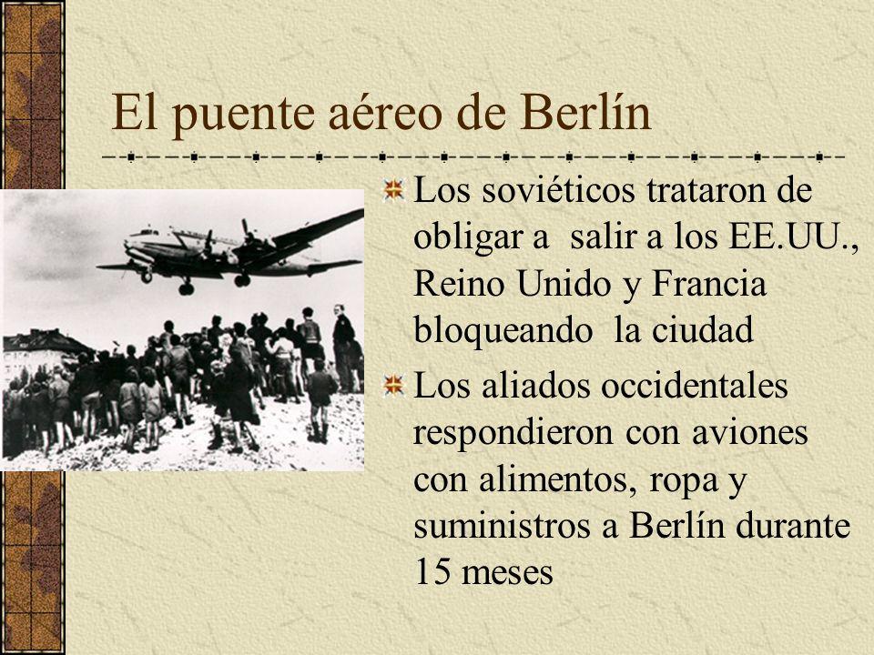 El puente aéreo de Berlín