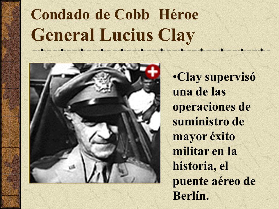 Condado de Cobb Héroe General Lucius Clay