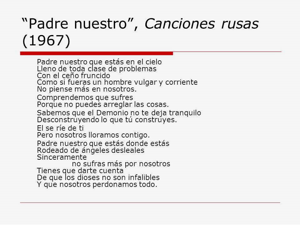 Padre nuestro , Canciones rusas (1967)