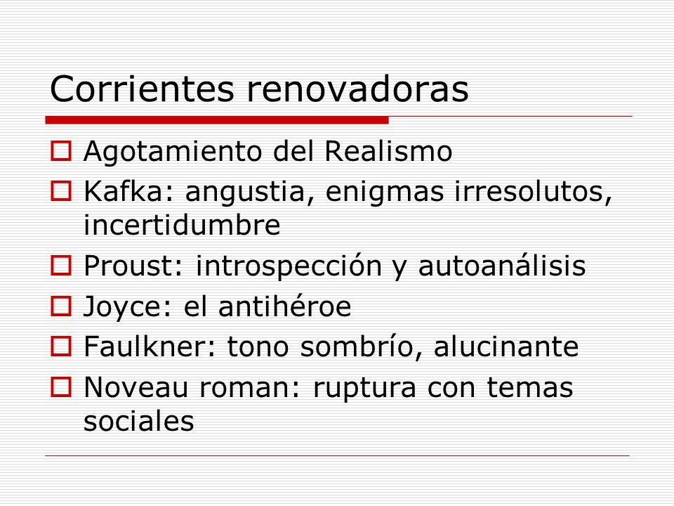 Corrientes renovadoras