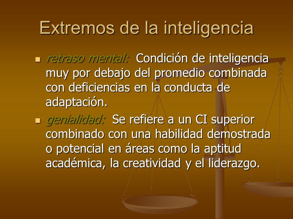 Extremos de la inteligencia