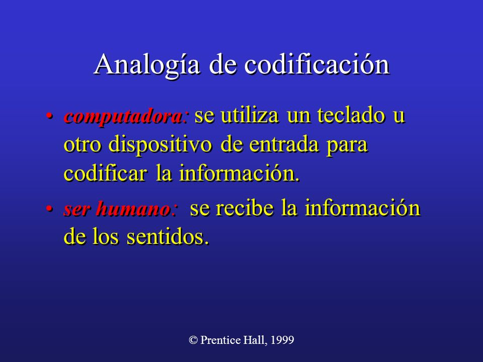 Analogía de codificación