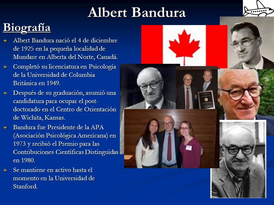 Albert Bandura Biografía