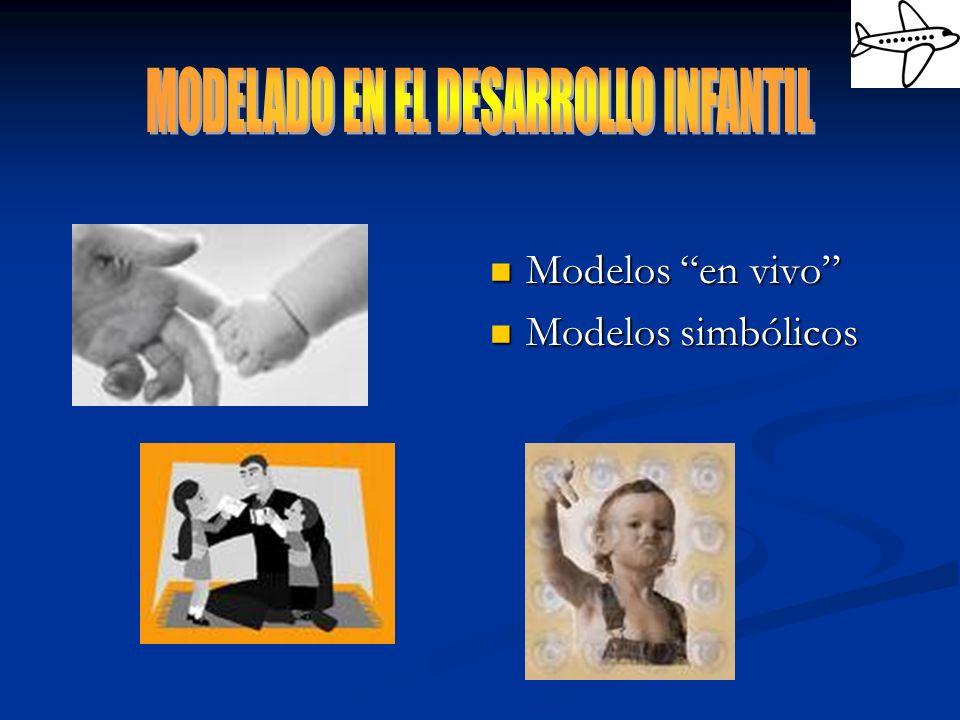 MODELADO EN EL DESARROLLO INFANTIL