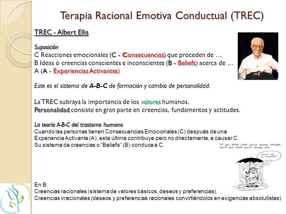 Terapia Racional Emotiva Conductual (TREC)